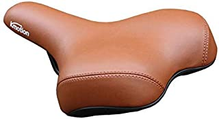 Comfortable Bike Seat Extra Wide and Padded Bicycle Saddle Front Seat Big Saddle No Grinding Legs Scooter Seat Cushion Bic...