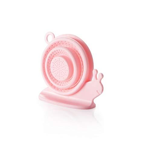 YXIAOn Wastafel Keuken Riool Anti Afvoerputje Plug slak vorm Folding telescopische Silicone Tap Water Filter Schoon houden (Color : Pink random)