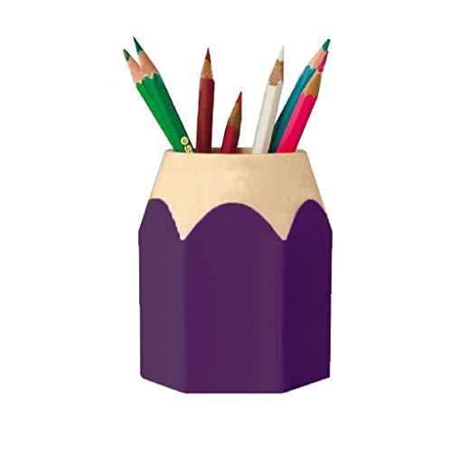 articoli-Capacit/à Elevata Scrivania Organizer LUCY WEI 4 pcs Scrivania Matita Organizzatore scuola 4 colori 16 vano Portapenne Multifunzione per ufficio