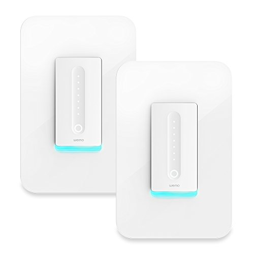 Wemo Wi-Fi Smart Dimmer 2-Pack