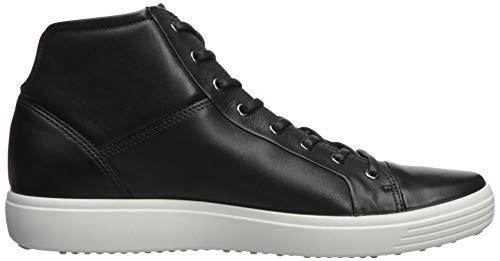 ECCO ECCO Soft 7 Men's, Hi-Top Sneakers Men's, Black (BLACK1001), 13 UK EU
