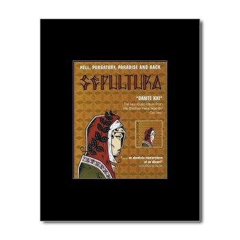 SEPULTURA - Dante XXI Matted Mini Poster - 13.5x10cm