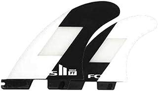 FCS2 フィン FILIPE TOLEDO TRI FINS OFF WHITE BLACK フィリペ トレド トライ オフホワイト ブラック MEDIUM ミディアム パフォーマンスコア PC AirCore エアコア 3本セット 日本正規品