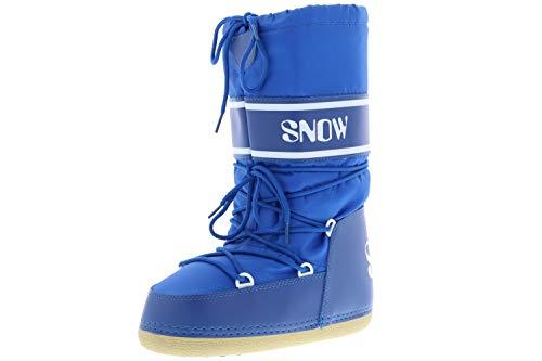 Vista Damen Herren Winterstiefel Boots blau, Größe:38/39/40, Farbe:Blau