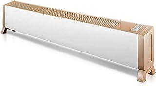 H.yina Calentador de zócalo Tipo de calefacción por convección Calentadores eléctricos de Alta Potencia Radiador de Interior, Independiente 1300w / 2200w