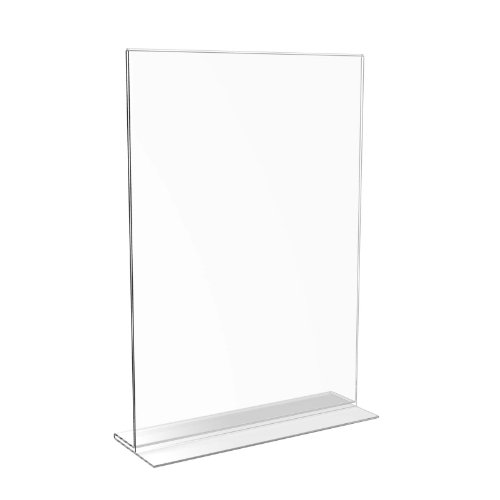 Displaypro A4 Clear Double Sided Acrylic Menu Counter Poster Holder Sign Display Stand