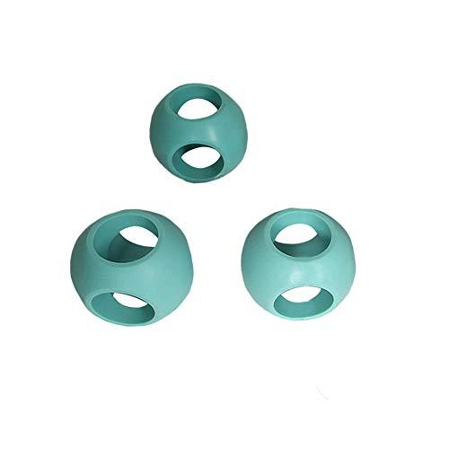 LYCOS3 Lot de 4 boules de lavage magnétiques anti-calcaire pour machine à laver et/ou lave-vaisselle