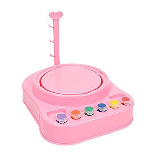 N/G Töpferscheibe Elektrische für Kinder,Keramikmaschine Pottery Wheel Machine mit 1 Plattenspielern,Nicht Brennendes Kreatives Spielzeug für Kinder und Anfänger Aged 8-12,Kindergeschenke (B)
