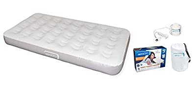 AeroBed Premier Twin 9-inch Height ( Inflated Dimensions: 74x39x9 Inches ) Air Mattress with 120V Pump