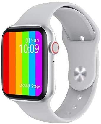 W26 Smart Watch 6 Uomini Donne Ecg Ppg Heart Rate Monitor Bluetooth Chiamata Ip68 Impermeabile Temperatura Del Corpo Smartwatch 2020 Cina metallo bianco