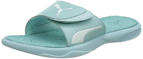 PUMA Damen Royalcat Comfort WNS Flipflop, Blue Glow Angel Blue Weiß, 38 EU