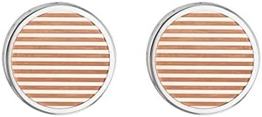 TOMMY HILFIGER MEN'S TWO TONE STAINLESS STEEL CUFFLINKS -2790095