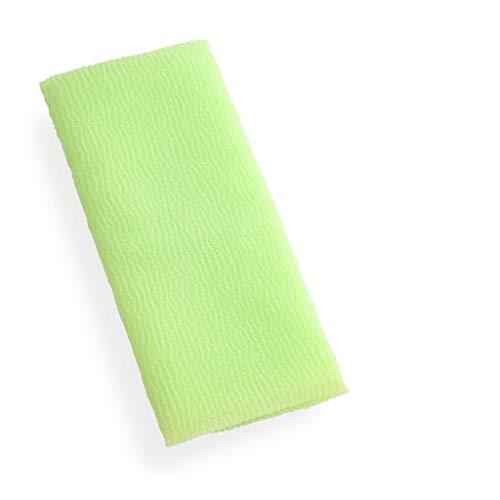 NYKK Toallitas exfoliantes Hogar de la Toalla de fregado for Hombres y Mujeres Toalla Exfoliante Corporal (Color : A, tamaño : 6 Pack)