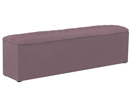 Windsor & Co Rangement, Tissu, Lavande, 160 x 34 x 47 cm