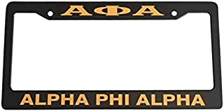 alpha license plate