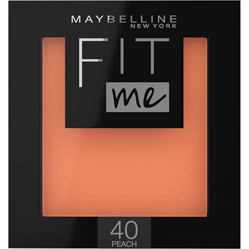 Maybelline New York Fit Me Blush in Polvere Pigmentato, Facile da Sfumare, per un Look Naturale, 40...