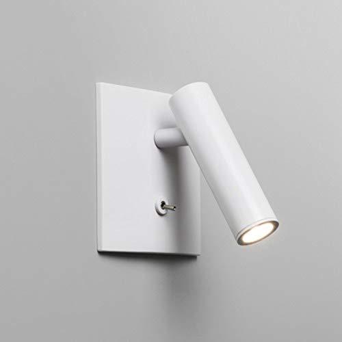 Astro Lighting - Applique encastrable Enna carrée LED - Interrupteur - Blanc