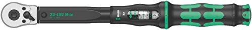 """Wera 05075611001 Click-Torque B 2 Drehmomentschlüssel mit Umschaltknarre 3/8\"""", 20-100 Nm"""