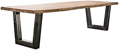 Table à Manger 300 cm en Bois Massif BRITANA 3