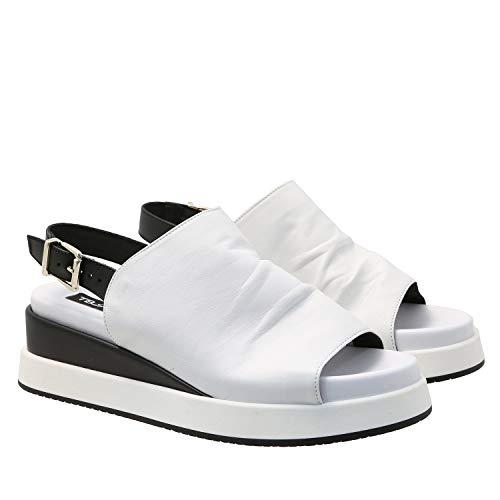 Tosca Blu Sandale Größe 38, Farbe: C88 Bianco/Nero