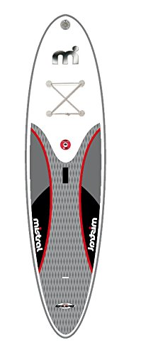 Mistral per stand up paddle board, SUP Equipe 10 '5 incluso Mistral Spiral Leash Line (IPL Edition)