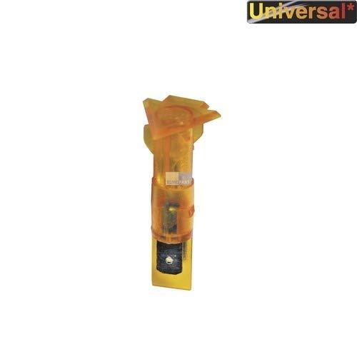 Universal Kontrolllampe Herd Kochfeld gelb Pfeil rund 14mm Ø 1-polig 230Volt