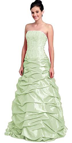 Nachtigall+Lerche Ballkleid Boden-lang für Hochzeit Abendkleid elegant figurbetont Abiball-Kleid...