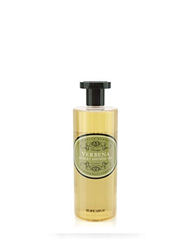 Naturally European Luxury Verbena Organic Body Wash - 500ml | No SLS and Parabens | Cleansing and Moisturising Lotion Shower & Bath Gel | For Men and Women