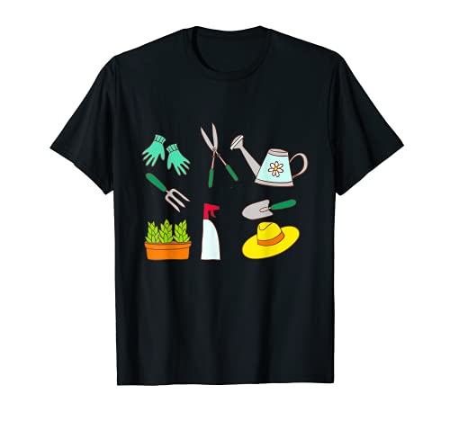 Herramientas de jardín Jardinero Jardinería Horticultura Paisajista Regalo Camiseta