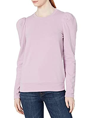 Jessica Simpson Women's Plus Size Mia Puff Sleeve Knit Top Pullover, Lavender Mist, 3X by Jessica Simpson