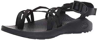 Chaco Women's Zcloud X2 Sport Sandal, Solid Black, 9 M US