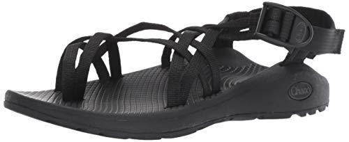 Chaco Damen ZCLOUD X2 Sandale, solide, schwarz, 38 EU