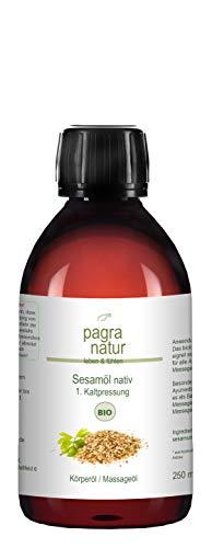 pagra natur Sesamöl bio nativ 1. Kaltpressung, 250 ml