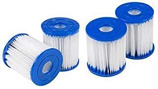 XIAOL Filtro para piscina para Bestway Tipo I, sustituye a cartuchos de filtro, accesorios de filtro de limpieza de piscina