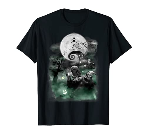 Disney The Nightmare Before Christmas Haunted Scene T-Shirt