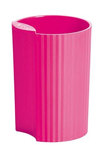 HAN Stifteköcher HAN LOOP 17220-56 in Trend Colour Pink / Modernes Schreibtisch Zubehör für Stifte / Stylischer und kombinierbarer Stiftebehälter