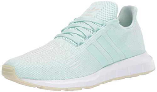 adidas Originals Women's Swift Running Shoe ice mint/off white/white, 7 M US