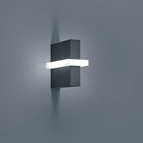 Helestra LED Außen-Wandlampe Oki IP54 880lm Graphit