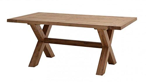 Gartentisch LINCOLN 220 x 100 cm Tisch aus Recycle-Teak von Ploß