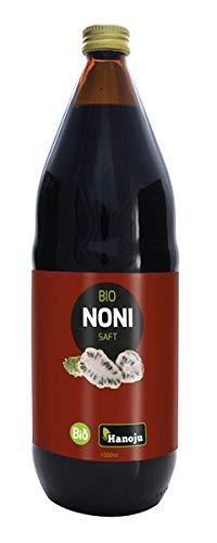 Hanoju - Succo di Noni Biologico della Polinesia, 1000 ml, 1 pezzo