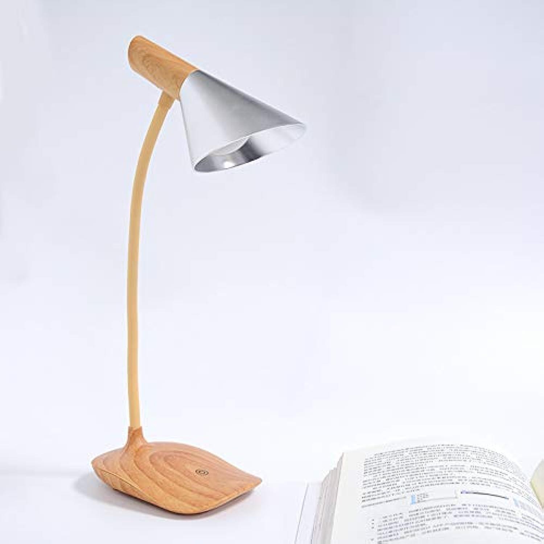 JINSHUL Einfache hölzerne Tischlampe führte Studentenstudie, die Augenschlafzimmernacht-USB Augenschlafzimmernacht-USB Augenschlafzimmernacht-USB kreatives Nachtlicht liest (Farbe   Silber) B07HVNHDXW | Moderne Technologie  b4c05a