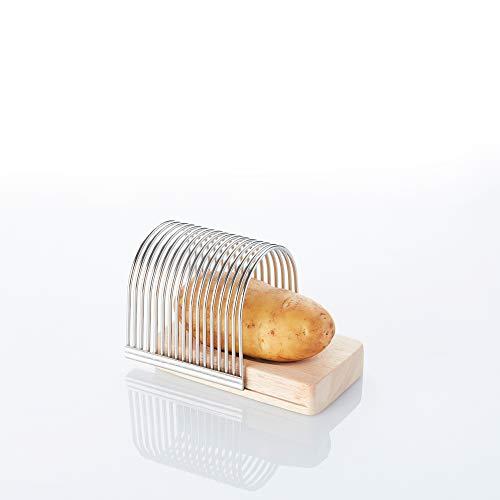 Point-Virgule Hasselback kartoffel und Gemüse Schneider, praktische Küchenhelfer zum Kochen, 13.5 x 9.5 x 10.5 cm