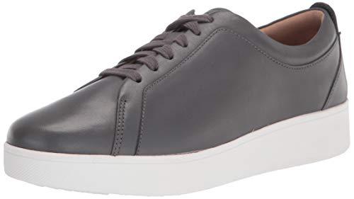 FitFlop Women's Rally Sneakers, Dark Grey, 5 Narrow