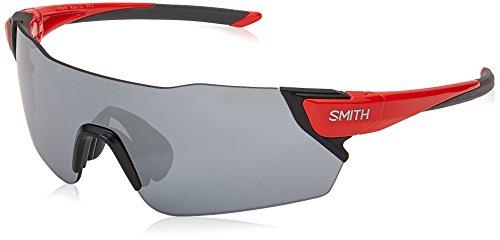 SMITH Attack XB LZJ 99 Gafas de Sol, Rojo (Cherry Red/SL Silver), Unisex Adulto