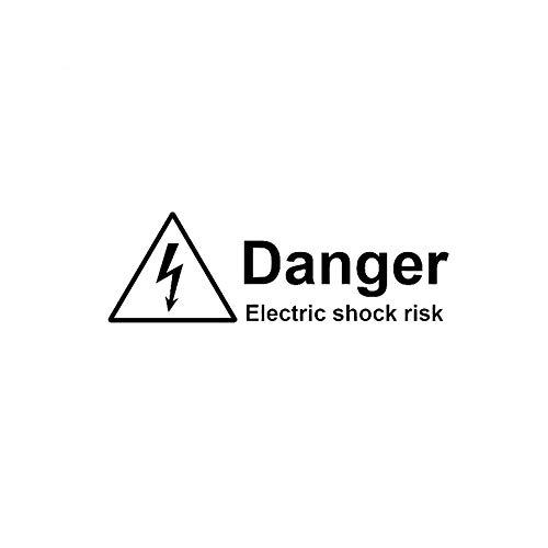 Advertencia Peligro Choque eléctrico Riesgo Etiqueta de coche Decoración de vinilo Accesorios...