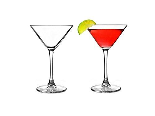 Pasabahce 44698 - Martini Glas, Cocktailglas, Partyglas, V-förmige Martini Gläser, 2er Set