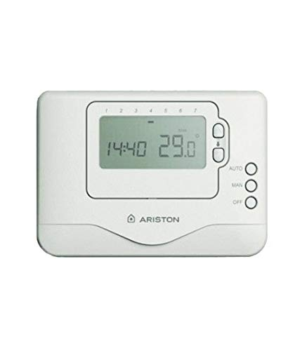 Ariston 3318591 - Cronotermostato ambiente inalambrica programable on/off sin hilos