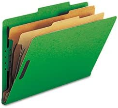 Smead Six-Section Colored Pressboard Max 88% OFF Classification Tab Fold Our shop most popular Top