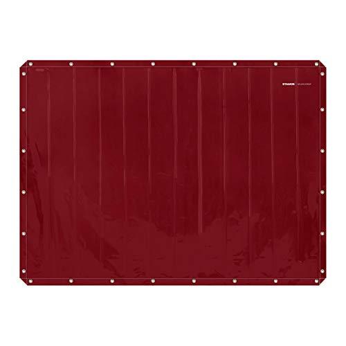 Stamos Welding Group SWS03 Schweißvorhang 239 x 175 cm Schweißschutz Ersatz feuerhemmend Vinyl-Kunststoff Kevlar-Fäden