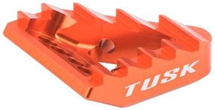 Fits Tusk Aluminum Brake Pedal Orange Tip KTM 450 EXC-F Six Days 2017-2019